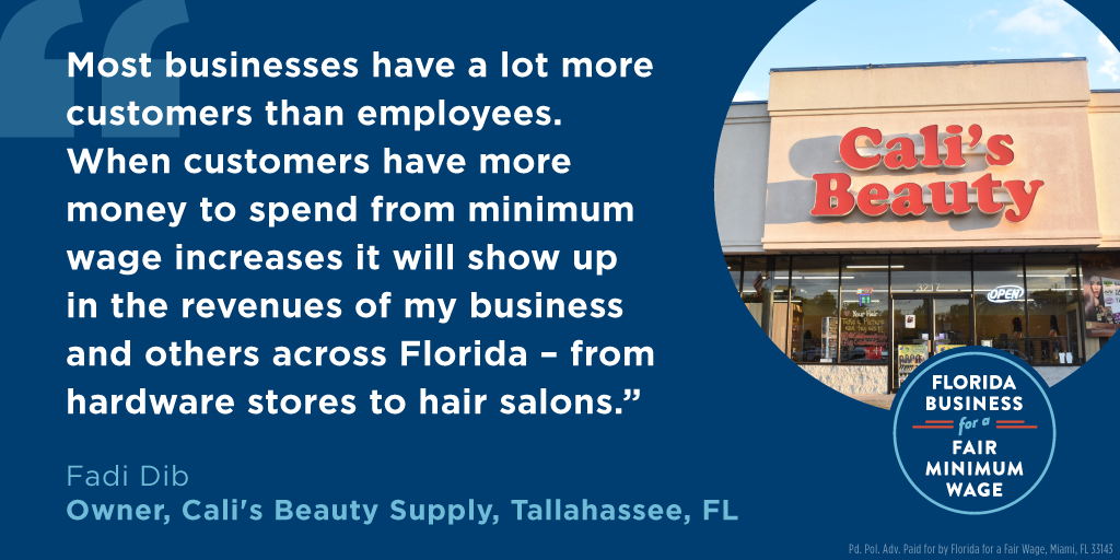 Cali's Beauty Supply Supports Florida Amendment 2