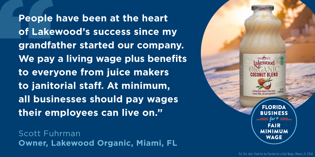 Lakewood Organics Supports Florida Amendment 2