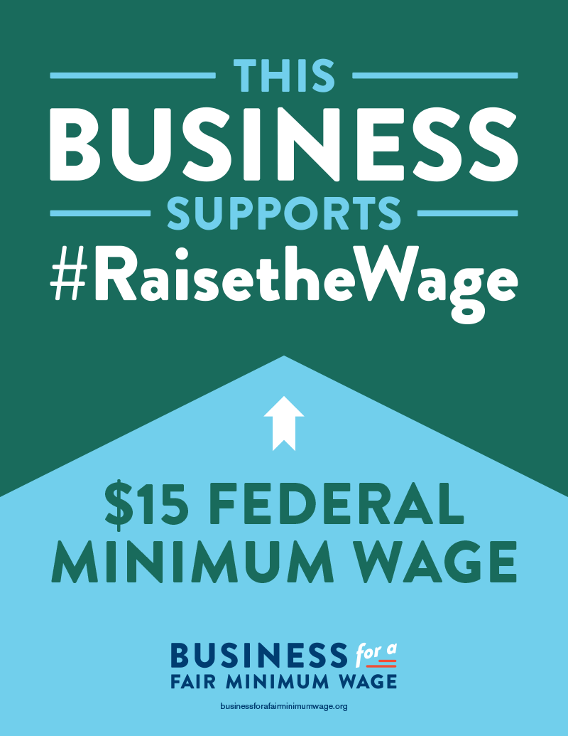 Business Supports a $15 Federal Minimum Wage